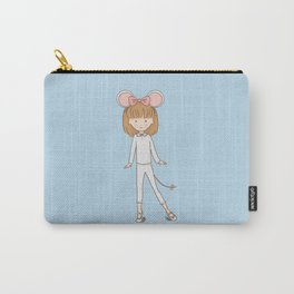 Dress Up Little Mouse Carry-All Pouch