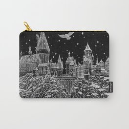 Holiday at Hogwart Carry-All Pouch