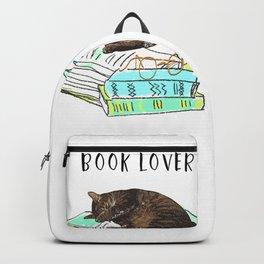 Cat book lover Backpack