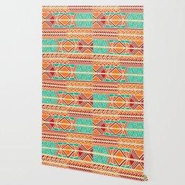 Tribal ethnic geometric pattern 027 Wallpaper