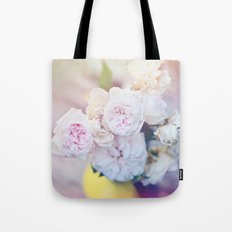The Last Days of Spring - Old Roses III Tote Bag