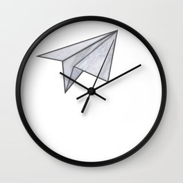 Marbelous plane Wall Clock