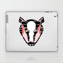 Cute Badger Face Laptop & iPad Skin