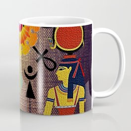 Hathor under the eyes of Ra -Egyptian Gods and Goddesses Coffee Mug