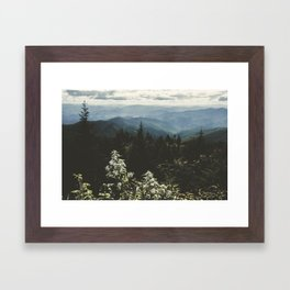 Smoky Mountains - Nature Photography Framed Art Print