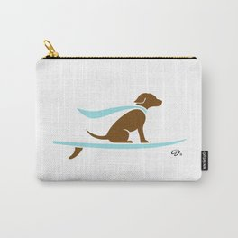 Hang 8 // surfing labrador // cool pup Carry-All Pouch