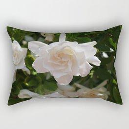 Florida Gardenia Rectangular Pillow