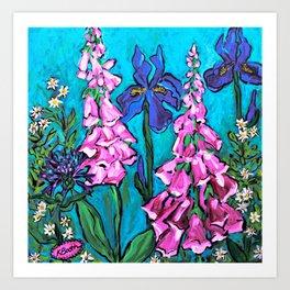Garden View #1 Art Print