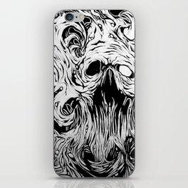 Organic Skull iPhone Skin