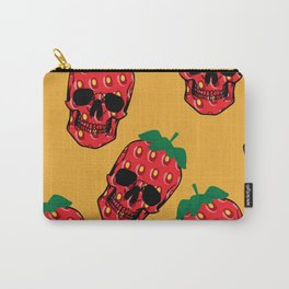 Skull Strawberries  Carry-All Pouch