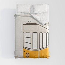 Lisbon, Portugal, Tram, Funicular, Ascensor da Bica Comforters