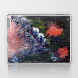 Poppy - Mixed Media Acrylic Abstract Modern Art, 2009 Laptop & iPad Skin