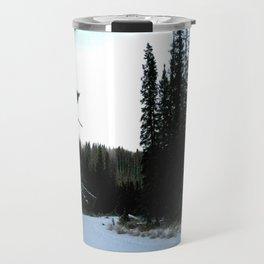 Wintertime in WaterValley Travel Mug