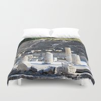 theater Duvet Covers featuring Theater  by Allisa Thome