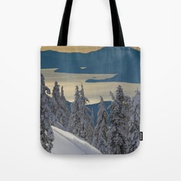 LIMITED EDITION (Almost sold out)  - KEVIN SANSALONE / HOWE SOUND SQUAMISH BC Tote Bag