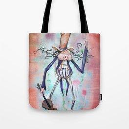 Piggy Fiddler Tote Bag