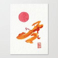 Capoeira 304 Canvas Print
