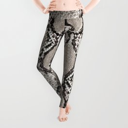 Snakeskin. Leggings