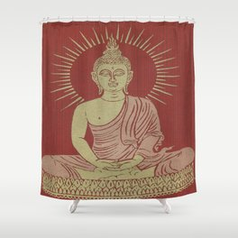 Power of Now collected from Thailand Shower Curtain