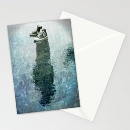 The Invisible Man Left View Stationery Cards