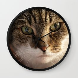 Look me in the Eyes! Wall Clock