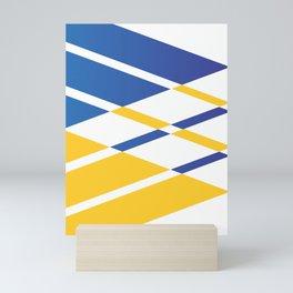Square Pattern Mini Art Print