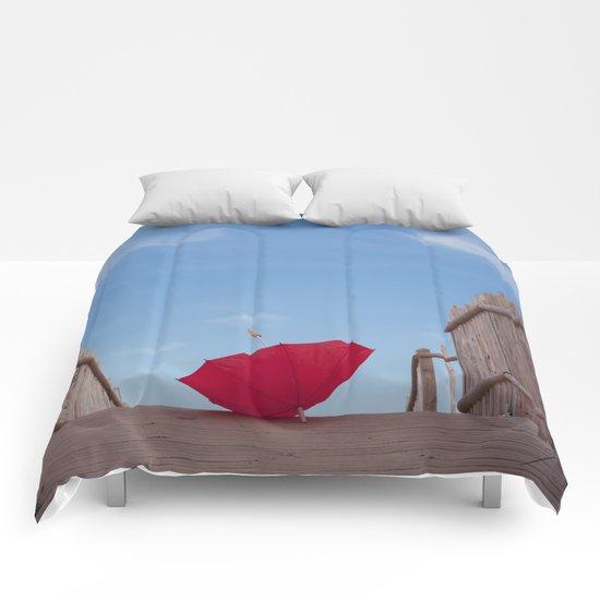Lost umbrella  Comforters