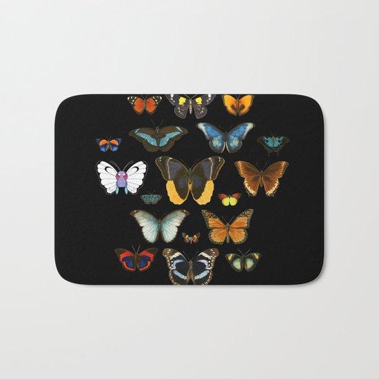 Entomology (Black) Bath Mat