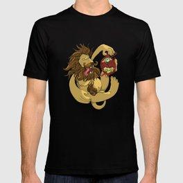 Lion Playing T-shirt
