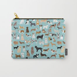 Dogs pattern print must have gifts for dog person mint dog breeds Tasche