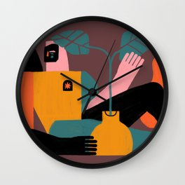 Solitud Wall Clock