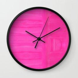 Hella Pink Wall Clock