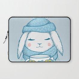 Winter Rabbit Laptop Sleeve