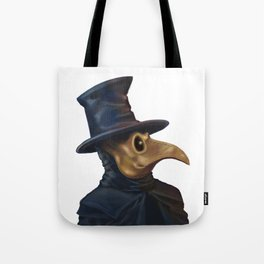 Noble Plague Doctor Tote Bag