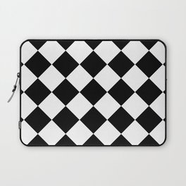 Diamond Black & White Laptop Sleeve