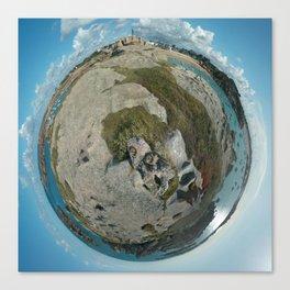 Planète Canvas Print