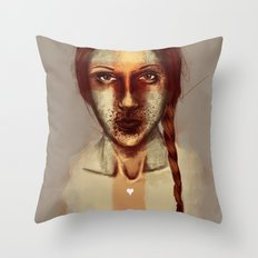 of love Throw Pillow