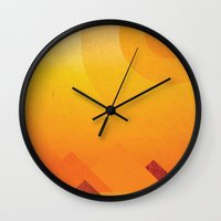 egypt Wall Clocks featuring Egypt by LG Design