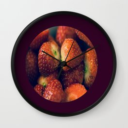 Strawberry fields forever.... Wall Clock