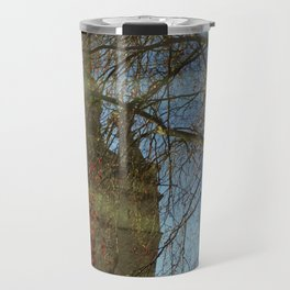 Old Tower And Leafless Branches Travel Mug