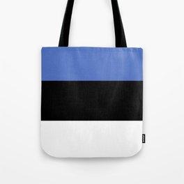 Estonia flag emblem Tote Bag