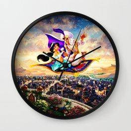 jasmine Wall Clock