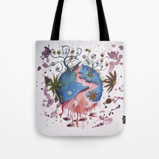 The strange planet Tote Bag