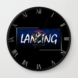 Lansing Wall Clock