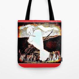 Dawning Dove Tote Bag