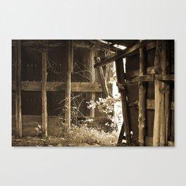 Barn Light Canvas Print
