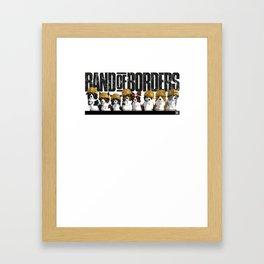 Band Of Borders - Desert Framed Art Print