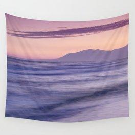 Dream sunset. Marbella sea... Wall Tapestry