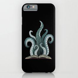 Tentacle book iPhone Case
