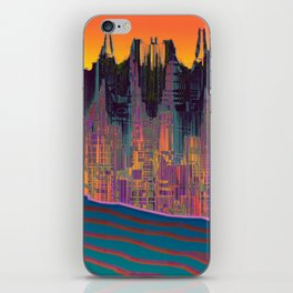 At The Energy River iPhone Skin